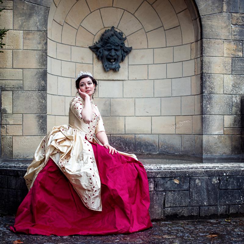 robe a l'anglaise
