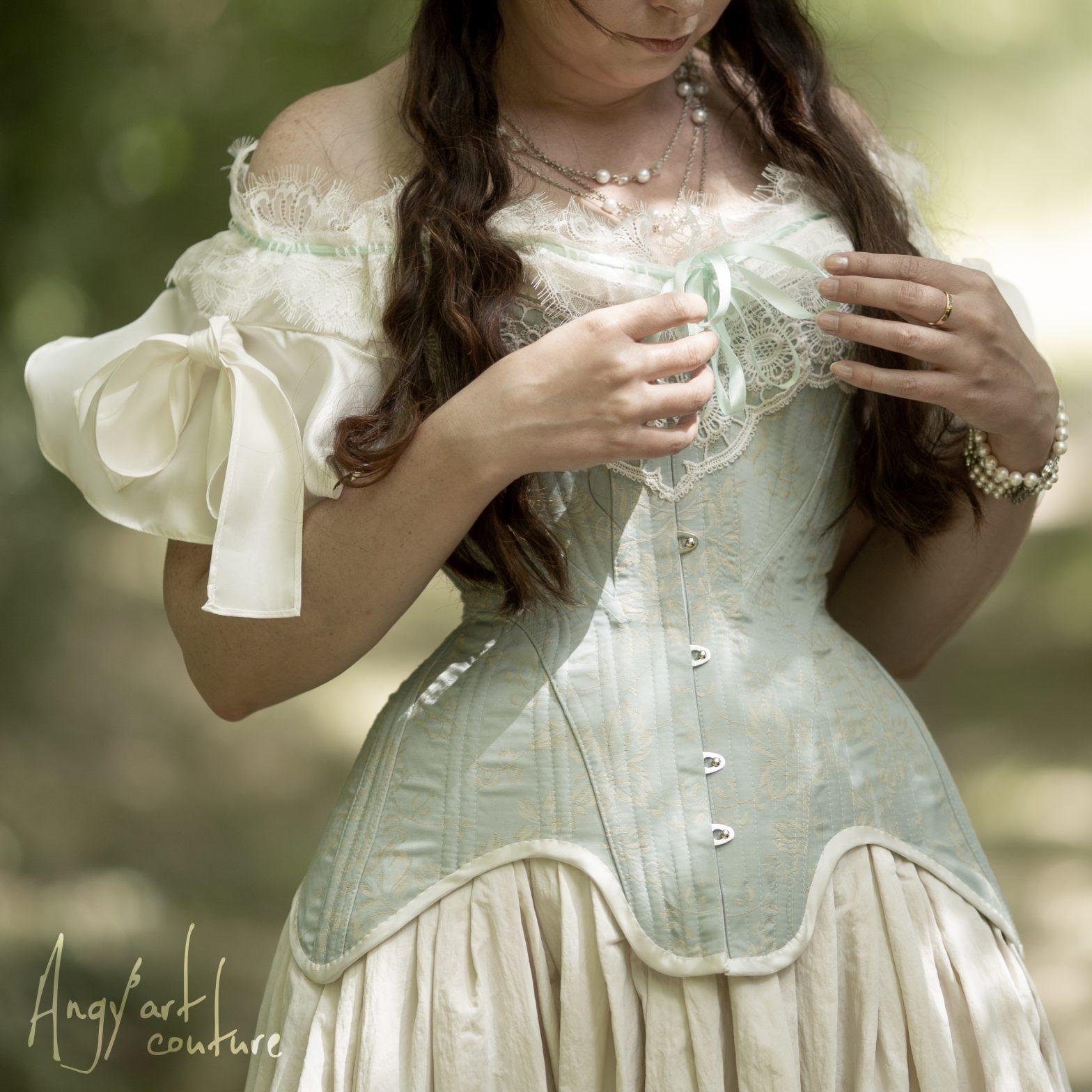 Corset 19e siècle - Angy'art couture
