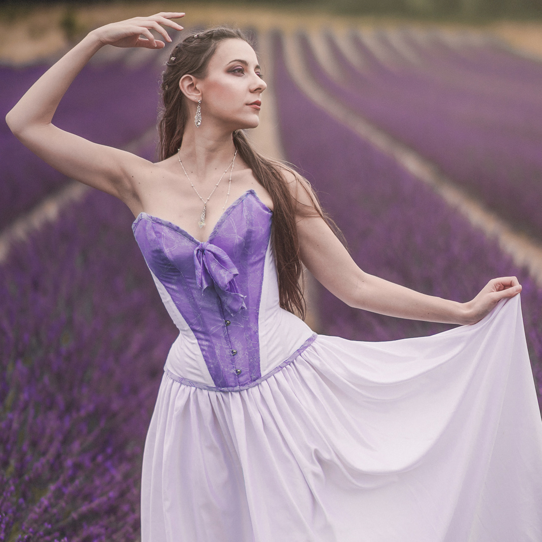 Fairy lavande corset