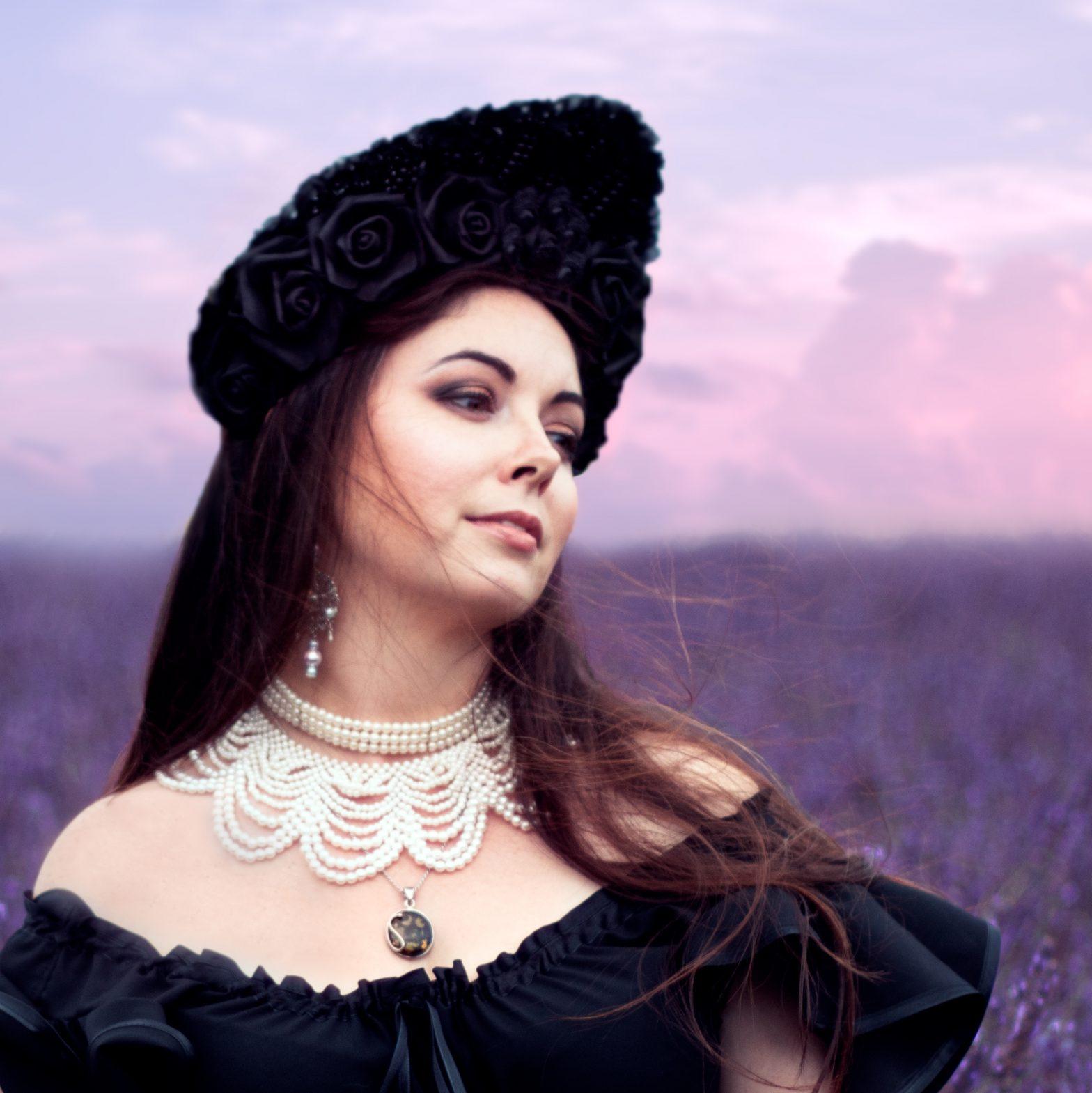 dark beauty goth style